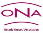 Ontario Nurses' Association Members Mark Labour Day 2021