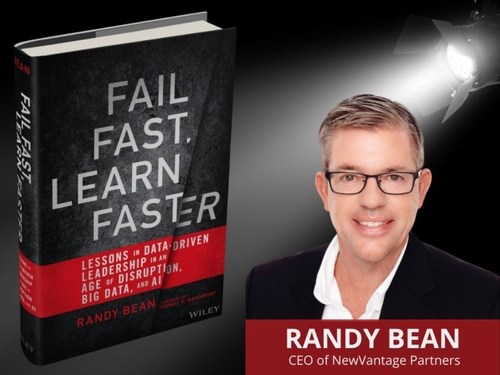 Randy Bean, author of new book Fail Fast, Learn Faster: Lessons in Data-Driven Leadership in an Age of Disruption, Big Data, and AI