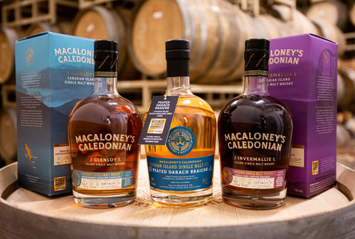 Canadian Distiller's Battle with Scotch Whisky Association Heats Up (CNW Group/Macaloney's Caledonian Brewery & Distillery)