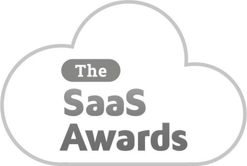 The SaaS Awards logo 2021 - gray