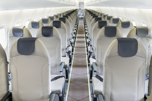 Porter Airlines refreshes aircraft fleet, featuring world's lightest aircraft seat (CNW Group/Porter Airlines)