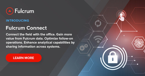 Fulcrum Connect connects the field with the back office.