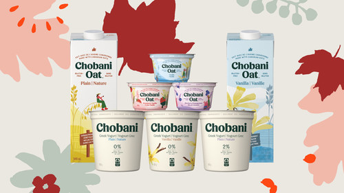 Chobani products available in Canada