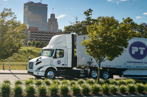 Performance Team – A Maersk Company, has placed an order for 16 Volvo VNR Electric trucks—the largest order of the zero-tailpipe emission model to date. The VNR Electric model from Volvo Trucks North America is the first battery-electric Class 8 truck in Performance Team's fleet, which will be on the road by end of year.
