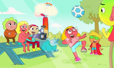 Summer Memories – Twenty 22-minute 2D-animated episodes produced by A&N Productions, Aircraft Pictures and Yeti Farm Creative, with the financial support of the Canada Media Fund and Shaw Rocket Fund, will begin airing on Family Channel in summer 2022. (CNW Group/WildBrain Ltd.)