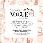 Vogue México y Latinoamérica presenta la primera edición de Espacio Vogue Miami : La pop-up para descubrir lo mejor del diseño latino