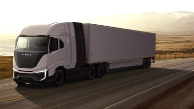 The fuel-cell power modules are expected to launch in 2023, with the first application being the Class 8 regional-haul Nikola Tre FCEV.  Nikola anticipates that the overall vehicle design will result in a range of up to approximately 500 miles.
