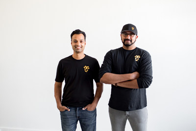 Left to right: Jeeves co-founders Sherwin Gandhi and Dileep Thazhmon.