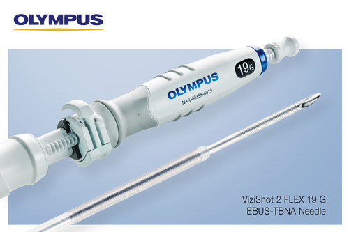 A study has shown that fine needle biopsy samples taken using the Olympus ViziShot 2 FLEX 19 G EBUS-TBNA Needle provided ample amounts of tissue, leading to a high success rate in molecular marker and PD-L1 testing.