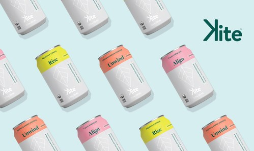 Kite Sparkling Adaptogenic Teas Announces Rollout into 170 Save-On-Foods Locations Across Canada and new USA debut. (CNW Group/Time To Unwind Inc.)
