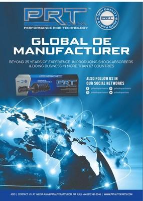 Global OE Manufacturer (PRNewsfoto/PRT (Performance Ride Technology))