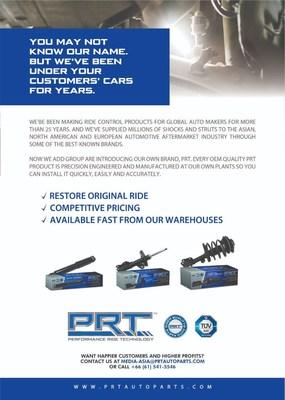 Under Customers' Cars (PRNewsfoto/PRT (Performance Ride Technology))