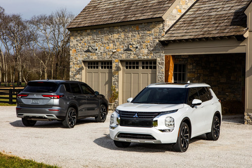 """""""The all-new 2022 Mitsubishi Outlander has been named a TOP SAFETY PICK+ by the Insurance Institute for Highway Safety"""""""