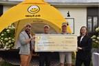 Pour son 20e Omnium de golf, les producteurs d'œufs du Québec remettent 77 900$ à la Fondation Olo