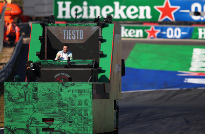 Heineken® and TIËSTO celebrate the return of Formula 1® to Zandvoort, with a unique performance live streamed directly from the track from the F1 Heineken Dutch Grand Prix