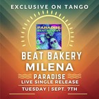 Milena to Livestream Her New Music Single Exclusively On Tango...