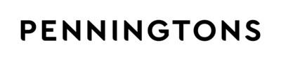 New Penningtons' Logo (CNW Group/Penningtons)