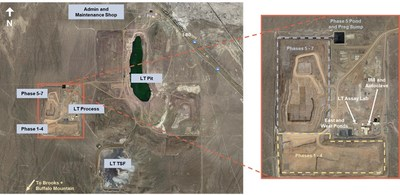 Figure 1 – Aerial view of the Lone Tree Mine Site (CNW Group/i-80 Gold Corp)