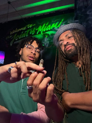 """With Ed """"NJWeedman"""" Forchion now busy fielding offers to branch out, he is officially ?passing The Joint' to his son, King"""