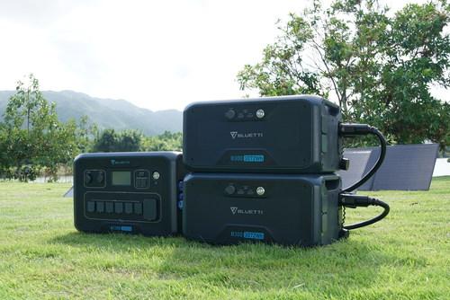 BLUETTI AC300 and B300