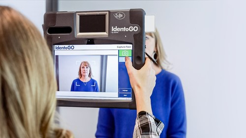 IDEMIA's IdentoGO tablet enables state DMV agencies to provide ID card and driver's license enrollments outside the DMV office