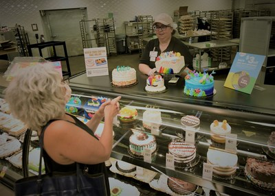 Meijer customers can now place custom cake orders online and pick them up from the Meijer Bakery during their next shopping trip.