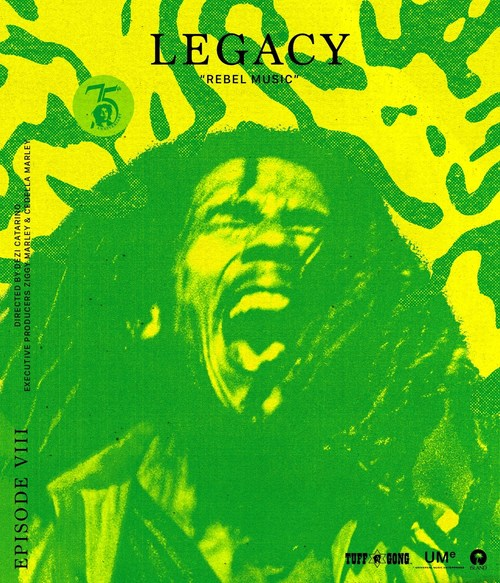 WEBBY-NOMINATED BOB MARLEY: LEGACY DOCUMENTARY SERIES PREMIERES NEW EPISODE 'REBEL MUSIC' – TODAY