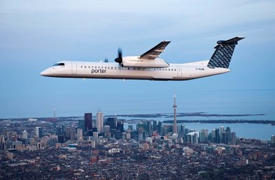 Porter Airlines officially returns to the skies today, almost 18 months after suspending flights due to COVID-19 public health and travel restrictions. (CNW Group/Porter Airlines)