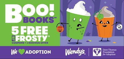 Wendy's Brings Back Spooky Good Boo! Books Benefiting the Dave Thomas Foundation for Adoption