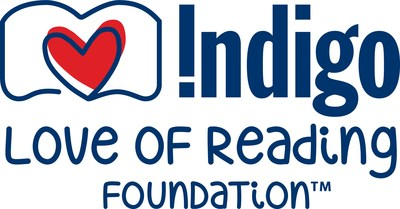 Indigo Love of Reading Foundation launches 12th annual Adopt a School program to enrich elementary school libraries. (CNW Group/Indigo Books & Music Inc.)