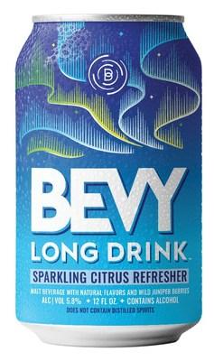 New Bevy Long Drink Nordic-inspired Sparkling Refreshers hit shelves nationwide November 2021.