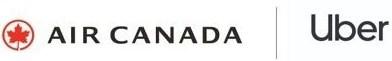 Logo Air Canada / Uber (Groupe CNW/Air Canada)