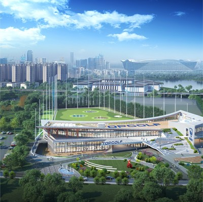 Topgolf Chengdu will be the company's first outdoor multi-level entertainment venue to operate in Greater China