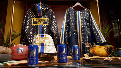 Pepsi® and Dapper Dan Unveil Capsule Collection in Celebration of the Kickoff to NFL Season and New York Fashion Week: The Shows