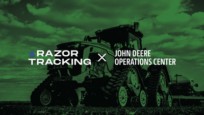 Razor Tracking has integrated with John Deere Operations Center to bring in JDLink equipped machines into Razor Tracking's industry- eading platform to create a seamless operational experience.