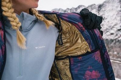 Columbia Sportswear dévoile sa nouvelle technologie Omni-Heattm Infinity, la médaillée d'or en matière de rétention de la chaleur (Groupe CNW/Columbia Sportswear)