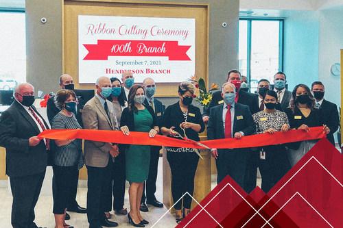 Mountain America Credit Union Celebrates 100th Branch in Henderson, Nevada