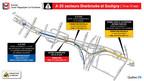 Réfection majeure du tunnel - Louis-Hippolyte-La Fontaine - Entraves majeures dans le secteur de l'autoroute 25 et du tunnel