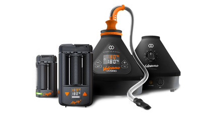 Highly-anticipated STORZ & BICKEL vape line-up includes: enhanced CRAFTY+, first-ever MIGHTY+ and limited-edition VOLCANO ONYX. (CNW Group/Canopy Growth Corporation)