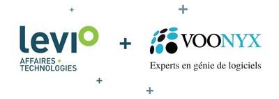 Levio + Voonyx regroupent leurs activités (Groupe CNW/Levio)