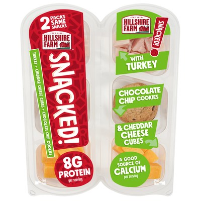 Hillshire Farm® SNACKED! Turkey with Chocolate Chip Cookies and Cheddar Cheese