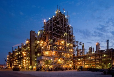 Pictured is LyondellBasell's Channelview Complex. LyondellBasell has obtained the International Sustainability and Carbon Certification PLUS certification for certain grades of polyethylene and polypropylene produced at four of its U.S. manufacturing sites, including its crackers in Channelview, Texas and its polymer sites in Lake Charles, Louisiana; La Porte, Texas; and Clinton, Iowa.