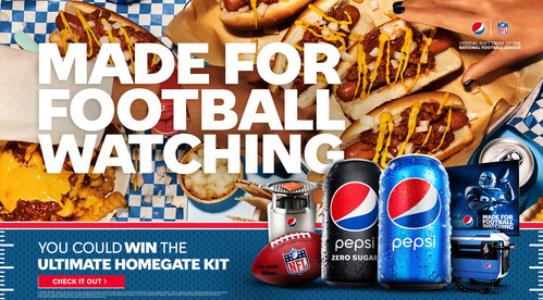 This Fall, Pepsi is celebrating fans' unapologetic love of football watching with exclusive content from their favorite players and celebrity superfans.
