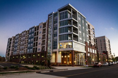 The Blu at Northline apartment community has sold to Hamilton Zanze Real Estate Investments, a Bay Area-based multifamily investment firm.