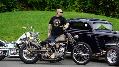 North American Motor Car Launches American Metal with Master Motorcycle and Car Builder Josh Allison.
