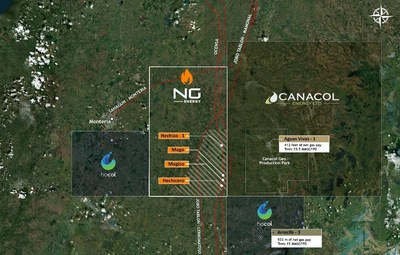 NG ENERGY ANNOUNCES CONTINGENT AND PROSPECTIVE RESOURCES IN SINÚ 9 AND MARIA CONCHITA BLOCKS (CNW Group/NG Energy International Corp.)