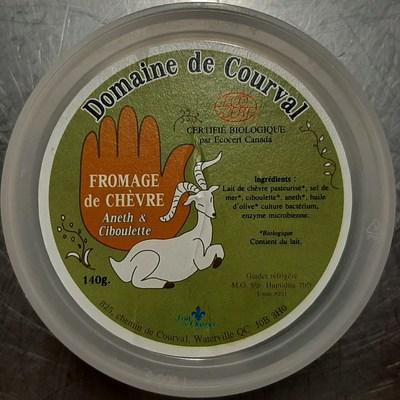 Fromage de Chèvre Aneth & Ciboulette (Groupe CNW/Ministère de l'Agriculture, des Pêcheries et de l'Alimentation)