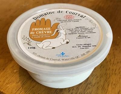 Fromage de chèvre citron et poivre (Groupe CNW/Ministère de l'Agriculture, des Pêcheries et de l'Alimentation)