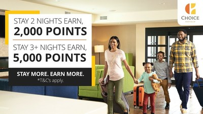 Choice Privileges Fall Promotion