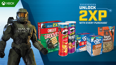 Customize Your Spartan Faster Thanks to Double XP With Purchase of Kellogg's® Products For Halo Infinite